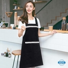 圍裙圍裙廚房做飯可愛正韓時尚圍腰男女工作服咖啡店花店