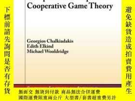 二手書博民逛書店Computational罕見Aspects Of Cooperative Game TheoryY36468