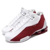 Nike 籃球鞋 Shox BB4 Varsity Red 白 紅 銀 男鞋 卡特 彈簧鞋 運動鞋【PUMP306】 AT7843-101