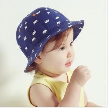 預購-男女寶寶皇冠牛仔漁夫帽