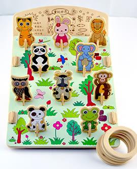 【收藏天地】童玩世界*懷舊夜市套圈圈DIY體驗包 / 文創 玩具 趣味