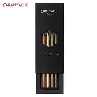 售完為止 CARAN d'ACHE 瑞士卡達 361.404 第七代 限量 珍奇 原木 鉛筆 /組