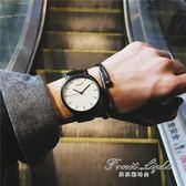 型男手錶 手錶男女學生韓版簡約潮流ulzzang休閒大氣黑白個性原宿風情侶錶 果果輕時尚NMS