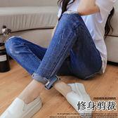 *桐心媽咪.孕婦裝*【CB0007】魅力加分.刷破設計孕婦牛仔褲