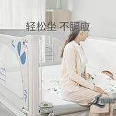 床圍欄寶寶防摔防護欄桿嬰兒床上擋板兒童床邊防掉通用安全床護欄【邻家小鎮】