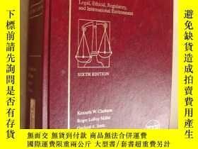 二手書博民逛書店west s罕見business law (Text,cases
