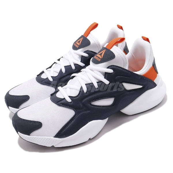 Reebok 慢跑鞋 Sole Fury Adapt 白 深藍 男鞋 運動鞋 【PUMP306】 DV8921