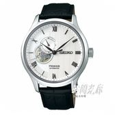 【分期0利率】SEIKO 精工錶 PRESAGE 機械錶 41.mm 4R39-00W0P 簍空 SSA379J1