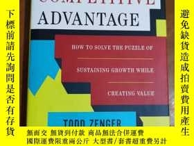 二手書博民逛書店Beyond罕見Competitive Advantage: How to Solve the Puzzle of