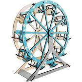3D拼圖 - 激光切割3diy仿真大成人木質制立體拼圖手工制作創意模型益智玩具【韓衣舍】