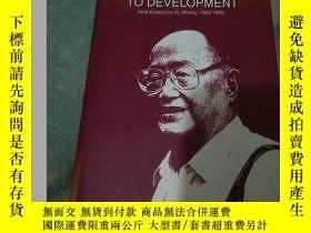 二手書博民逛書店REFLECTIONS罕見ON CHINA S ROAD TO DEVELOPMENT英文版,精裝大32開Y1