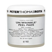 Peter Thomas Roth  Un-Wrinkle 抗皺去角質棉片 (適合所有膚質)1bottle, 60pads 【玫麗網】