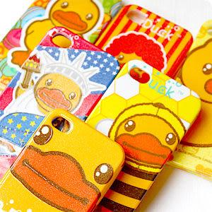 香港B.DUCK黃色小鴨圖案立體軟式手機殼 適用IPHONE4/4S 另售迪士尼手機吊飾