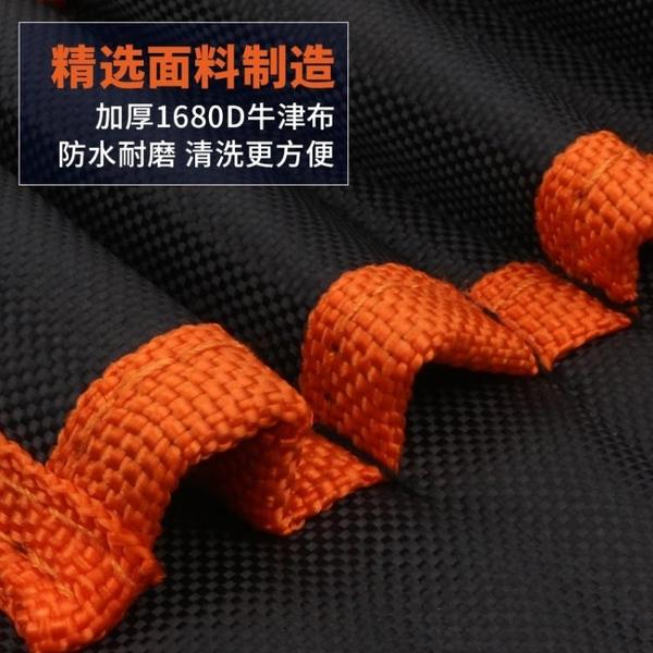 工具包腰包帆布電工工具包多功能小號掛包收納加厚挎包維修工具袋 蘿莉小腳丫