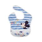 Baby City娃娃城 迪士尼 收納式防水圍兜 (米奇藍) 232元