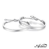 百貨週年慶2020AchiCat 情侶手環 白鋼手環 簡約世界 愛心 C型手環 *單個價格* 情人節推薦 B8016