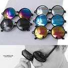 Cosplay風圓形膠框太陽眼鏡NY429