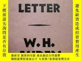二手書博民逛書店New罕見Year Letter【新年來信】【奧登作品】Y187641 W.H.Auden faber and