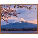 佳彩天顏 diy數字油畫風景花卉日本富士山櫻花手繪填色客廳裝飾畫 ATF 夏季狂歡