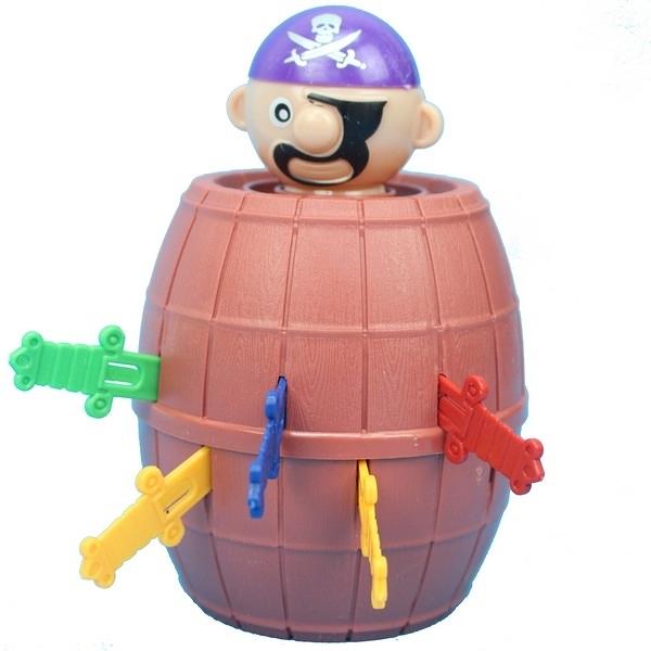 小海盜筒 YF555 千鈞一發海盜桶/一個入{促40} 插插樂 插劍桶 危機一發-CF132365