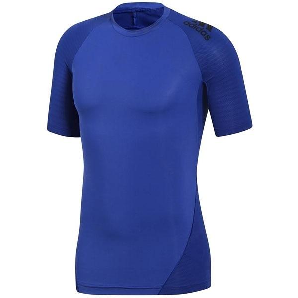 ADIDAS ALPHASKIN ATHLETE 男裝 短袖 緊身 慢跑 訓練 排汗 透氣 紫【運動世界】CD7138