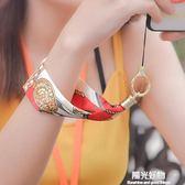 手機掛繩手腕短繩女款寬絲巾可拆卸個性創意吊繩華為vivo蘋果oppo通用 陽光好物