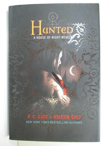 【書寶二手書T5/一般小說_G3F】Hunted_Cast, P. C./ Cast, Kristin