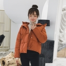 修身顯瘦棉服女生外套 麵包服棉襖女士外套 韓版外套羽絨外套 冬季加厚上衣 短款外套夾克外套