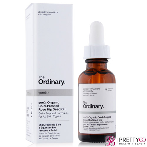 The Ordinary 100% Organic Cold-Pressed Rose Hip Seed Oil 100%有機冷榨玫瑰果籽油(30ml)【美麗購】