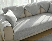 沙發套 北沙發布四季木坐代通用冬季防滑沙發套沙發巾罩【快速出貨八折下殺】