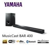 (福利品) YAMAHA 家庭劇院聲霸MusicCast BAR 400 / YAS-408