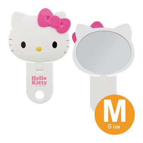【震撼精品百貨】Hello Kitty 凱蒂貓-造型鏡-頭形造型可立起-M