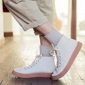 男中筒襪 襪子男加厚保暖加絨羊毛中筒襪男士棉襪冬天黑色毛巾長襪 莎瓦迪卡