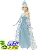 [104美國直購] Disney 迪士尼 冰雪奇緣 CHW87 Frozen Singing Elsa Doll 艾莎 芭比娃娃 會唱歌的艾莎娃娃