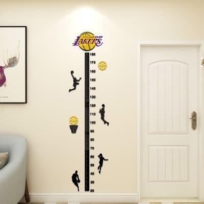 新春大吉 亞克力3d立體身高墻貼兒童量身高尺寶寶測量身高可愛客廳裝飾墻貼