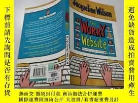 二手書博民逛書店the罕見worry website:擔憂網站Y212829 不祥 不祥