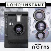 Norns 【Lomo'Instant 拍立得相機 黑色鏡頭組合】lomography 重曝 B快門 四色濾鏡 免運