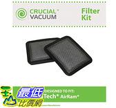 [107美國直購] 相容濾網適用於 Gtech Bissell 濾網 2入 AirRam Filter Fits