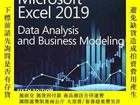 二手書博民逛書店Microsoft罕見Excel 2019 Data Analysis And Business Modeling