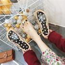 拖鞋女外穿防滑一字拖情侶沙灘平跟韓版潮流時尚戶外涼拖鞋  米菲良品