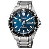 CITIZEN 鈦金屬防水機械男腕錶-NY0070-83L