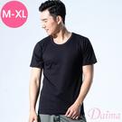 MIT夏日時光(M-XL)洞洞衣透氣彈性舒適涼感男士上衣_黑【黛瑪Daima】