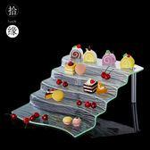 甜品糕點壽司架自助餐點心小吃食物展示盤