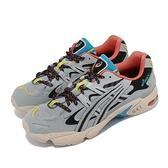 Asics 休閒鞋 Gel-Kayano 5 OG 灰 橘 男鞋 亞瑟士 誇張線條 穿搭 流行款 【ACS】 1191A148020