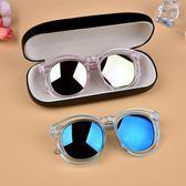 雙11八九折搶先購-墨鏡 兒童眼鏡太陽鏡男童女童墨鏡正韓防紫外線眼鏡寶寶太陽眼鏡潮