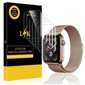 【美國代購】Apple Watch的4包LK屏幕保護膜44mm系列4 Max Coverage柔性薄膜