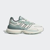 Adidas Zentic W [GX0422] 女 休閒鞋 運動 再生材質 輕量 避震 透氣 穿搭 愛迪達 米 綠