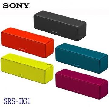 【陳列福利品特價+24期0利率】SONY 索尼 SRS-HG1 可攜式無線藍牙喇叭 無線喇叭 藍牙 公司貨 共五色