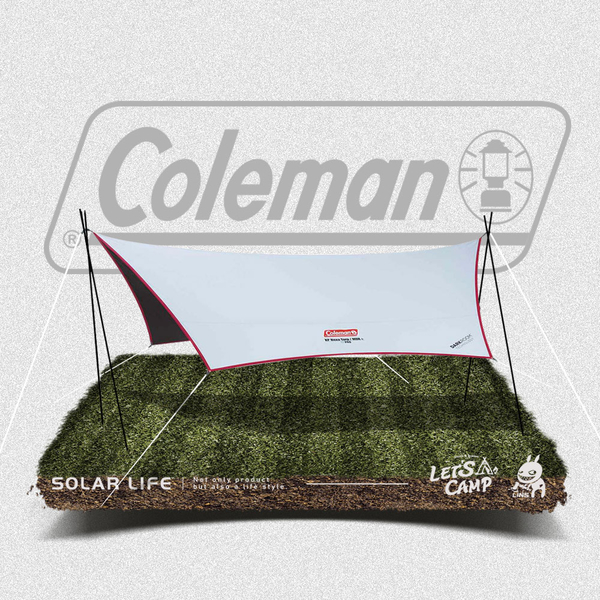 Coleman XP 六角形天幕/MDX+ (高遮光).黑膠天幕帳 防水防紫外線 炊事帳遮陽客廳帳 露營外帳含營柱