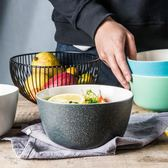 尾牙年貨節碗家用吃飯可愛日式陶瓷碗飯碗沙拉碗面碗宿舍碗米飯碗泡面碗第七公社